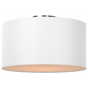 Lucide Lucide CORAL Ceiling Light E27 D45 H25cm White- 61113/45/31