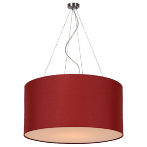 Lucide Lucide 61452/40/57 CORAL Pendant Cotton E27 D40/40/20 Dark Red