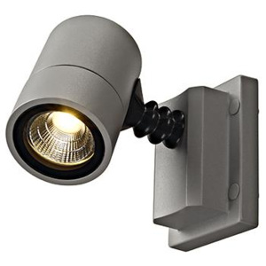 Schrack Technik Schrack Technik NEW MYRA WALL LED pris., nástenné, strieb., 5W, 3000K, IP55