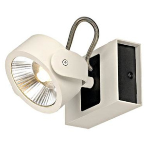 Schrack Technik Schrack Technik LI147601 KALU LED 1 Wall- & ceiling luminaire 1x10W 3000K white/black