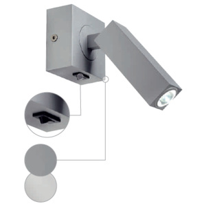Schrack Technik Schrack Technik LI146271 STIX WALL LUMINAIRE, 1x3W LED, 3000K, with joint, white
