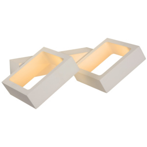 Lucide Lucide IXX Wall Light LED 4W 3000K L24 W14 H3cm- 17292/08/31