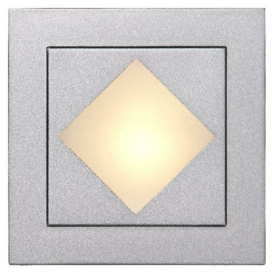 Lucide Lucide 17960/11/36 BEN Wall light recessed square + grill 8cm 12V/G4