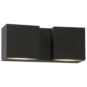 Lucide Lucide 17889/22/30 STARO-LED Wall Light 2x3W Black