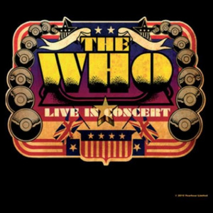 The Who – Live In Concert Podtácok