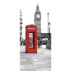 Eurographics Tapety na dvere - Calling from Big Ben 92x202cm