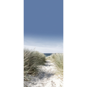 Eurographics Tapety na dvere - Dunes With Beach Grass 92x202cm