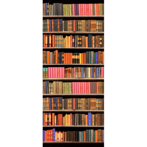 Eurographics Tapety na dvere - Library 92x202cm