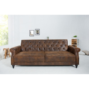 Sofa Maison Belle Affaire 220cm antik hnedá