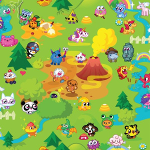 Graham & Brown - Kids @ Home - Moshi Monsters Mash Up 70-241