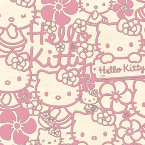 Graham & Brown - Kids @ Home - Hello Kitty Flock 70-227