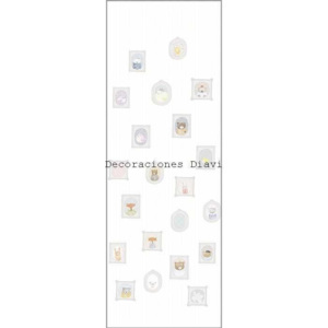 Casadeco - My little world - MLW29890101 blanc - Panel