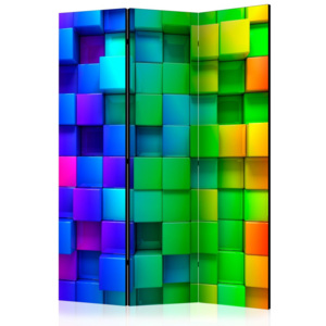 Paraván - Colourful Cubes 135x172