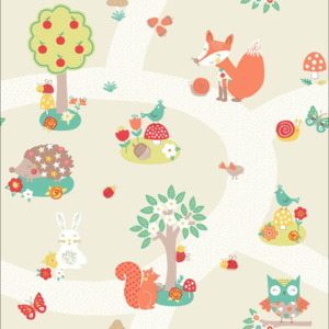 Arthouse Tapeta na stenu - Forest Friends Forest Friends Neutral
