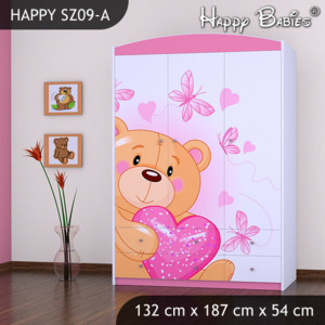 Skriňa Happy Pink SZ09-A