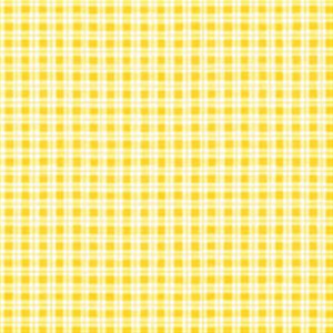 Obrúsky paw l 33x33cm chequered yellow