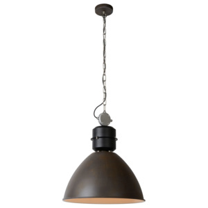 GARRIS - Pendant light - Ø 50 cm - Rust Brown