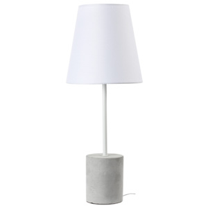 ACA DECOR Stolná lampa Hardy White