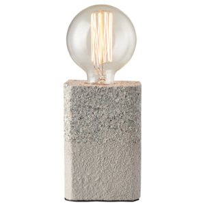 ACA DECOR Stolná lampa Rubico Grey