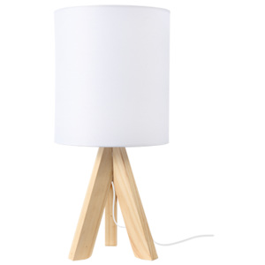 ACA DECOR Stolná lampa White