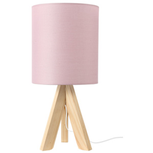 ACA DECOR Stolná lampa Pale Pink