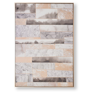 Obraz Graham & Brown Rose Quartz Dimension, 70 × 100 cm