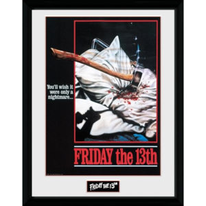 Rámovaný Obraz - Friday The 13th - Nightmare