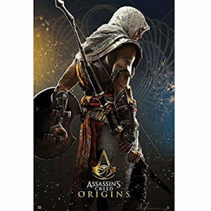 Plagát, Obraz - Assassin's Creed - Origins Hero, (61 x 91,5 cm)