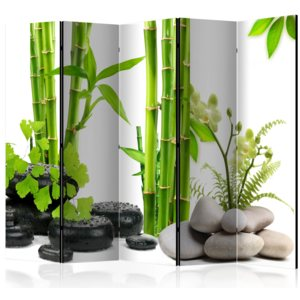 Paraván - Bamboos and Stones II [Room Dividers] 225x172