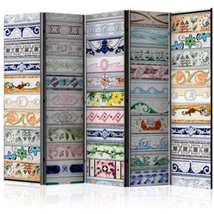 Paraván - Collection of Tiles II [Room Dividers] 225x172