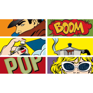 Pop Cartoon 2 Mix 12,5x33,3