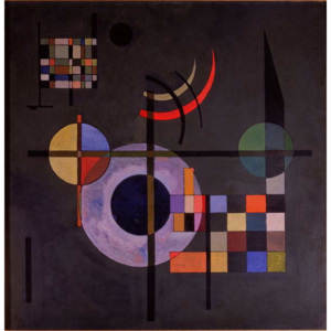 Wassily Kandinsky - Reprodukcia, Obraz - Counter Weights, 1926