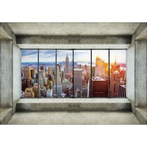 Fototapeta - Pohľad na New York City (152,5x104 cm)