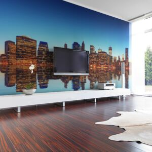 Fototapeta XXL Bimago - Skyline of New York from the water + lepidlo zadarmo 450x270 cm