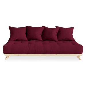 KARUP DESIGN Variabilná pohovka Senza – Clear lacquered/Bordeaux