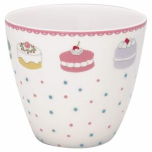 Latte cup Madelyn White, 350 ml