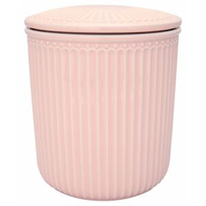 Porcelánová dóza Alice Pale Pink Medium (kód BDAY12 na -20 %)