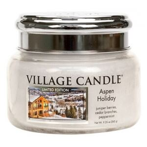 VILLAGE CANDLE - Aspen Holiday - 45-55 METAL