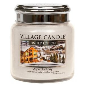 VILLAGE CANDLE - Aspen Holiday - 85-105 METAL