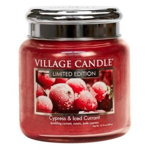 VILLAGE CANDLE - Cypress & Iced Currant - 85-105 METAL