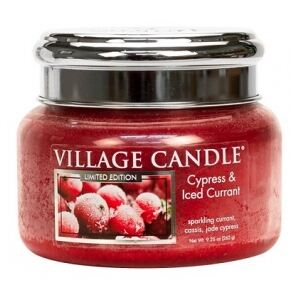 VILLAGE CANDLE - Cypress & Iced Currant - 45-55 METAL