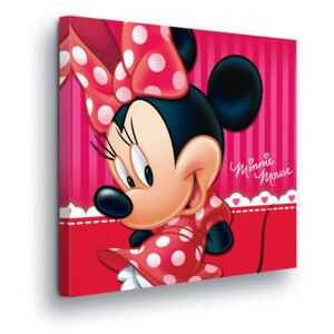 GLIX Obraz na plátne - Disney Minnie Mouse in Red III 40x40 cm