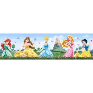 AG Design Disney Princess - samolepiaci bordura