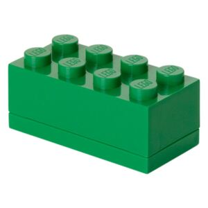Zelený úložný box LEGO® Mini Box Green Lungo