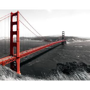 Fototapeta Golden Gate Bridge vlies 104 x 70,5 cm