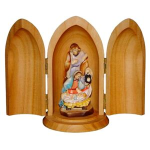Holy Family in Niche