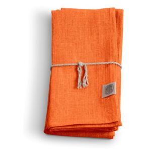 Lovely Linen obrúsok 44x44 ORANGE
