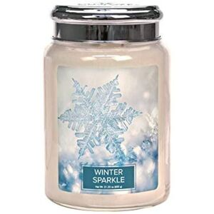 VILLAGE CANDLE - Winter Sparkle - 145-170 METAL