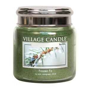 VILLAGE CANDLE - Zamrznutá jedlička - Frozen Fir - 85-105 METAL