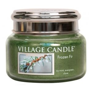 VILLAGE CANDLE - Zamrznutá jedlička - Frozen Fir - 45-55 METAL